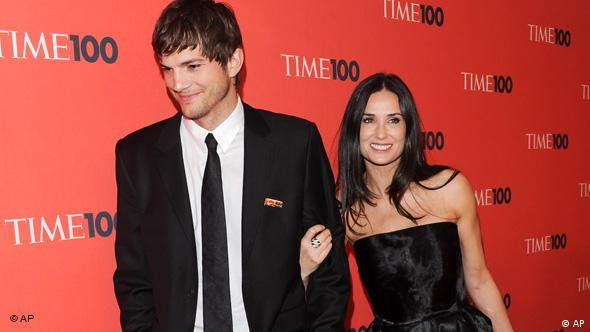 Demi Moore, Ashton Kutcher, TIME 100 Gala Flash