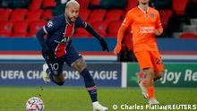 Champions League Gruppe H l PSG Paris vs Istanbul Basaksehir l Neymar Torschuss 1:0