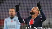 Champions League Gruppe H l PSG Paris vs Istanbul Basaksehir l Neymar Jubel 2:0