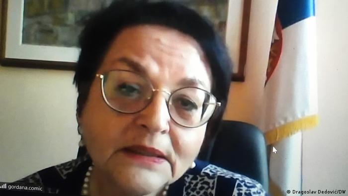 Gordani Čomić, ministarka za ljudska i manjinska prava i društveni dijalog