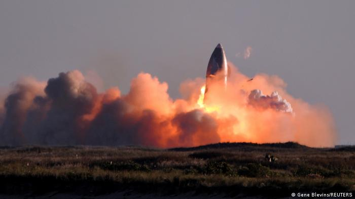 USA SpaceX-Starship Test Boca Chica Texas