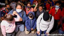 Honduras | San Pedro Sula | Migranten auf dem Weg in die USA