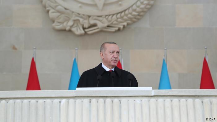 Cumhurbaşkanı Recep Tayyip Erdoğan Bakü'de