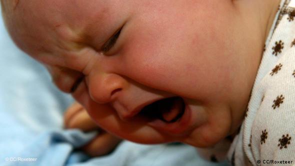 Baby weinen schreien Flash