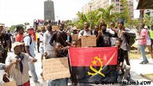 Angola Luanda |Protest gegen Arbeitslosigkeit