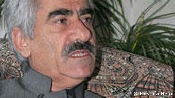 مصطفی هجری، دبیرکل حزب دمکرات کردستان ایران