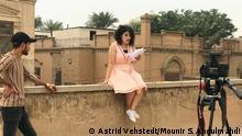 Dreharbeiten zu dem Film Projekt Bagdad