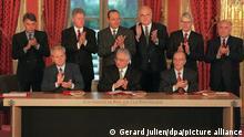 Frankreich Paris 1995 | Unterzeichnung Abkommen von Dayton