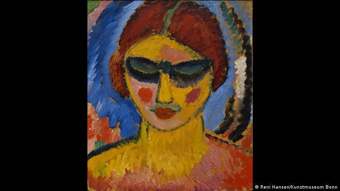 Девушка с опущенными глазами, 1912 г.