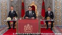 Marokko Tetouan | König Mohammed VI.
