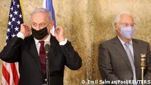 Israel I Netanyahu und U.S. Ambassador Friedman