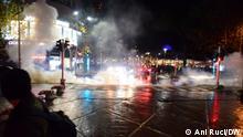 Albanien I Gewaltsame Proteste in Tirana auf Grund der Ermordung eines jungen Mannes durch die Polizei