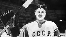 Eishockey I Keeper Viktor Konowalenko I 1963