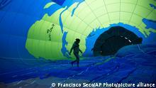 BdTD Belgien Heißluftballon in Brüssel