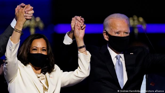 USA Joe Biden und Kamala Harris