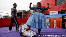 Bolivien Cholita Wrestling