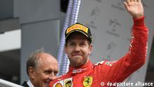 Formel 1 Motorsport Sebastian Vettel