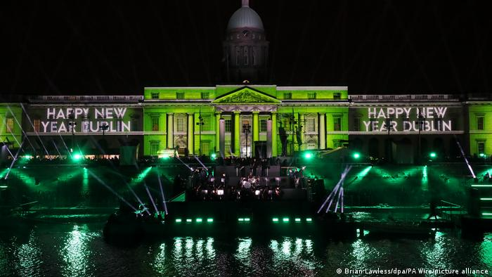 Lasershow | Silvester - Dublin