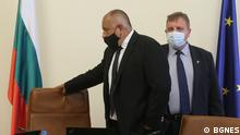 Der bulgarische Premierminister Boyko Borissov und der Verteidigungsminister Krassimir Karakachanov Copyright: BGNES
