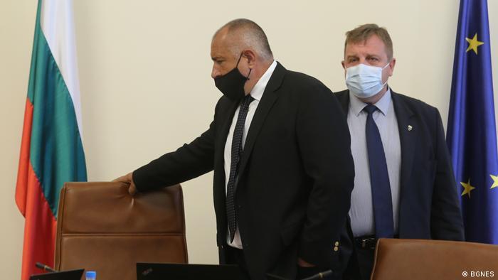 Бойко Борисов и Красимир Каракачанов