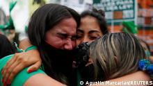 Argentinien Parlament legalisiert Abtreibung