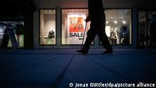 Закрытые магазины в Германии