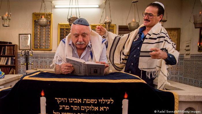 Marokko Juden Synagoge Medina