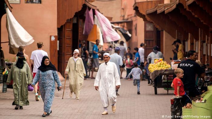 Marokko Juden Jüdisches Viertel Mellah Marrakesch