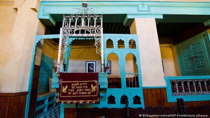 Marokko Juden Alte Synagoge in Fes