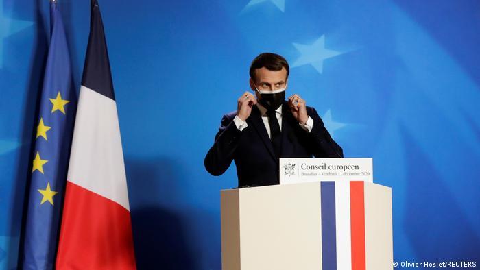 EU-Gipfel in Brüssel | Emmanuel Macron, französischer Präsident
