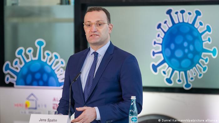 وزير الصحة الالماني ينس شبان