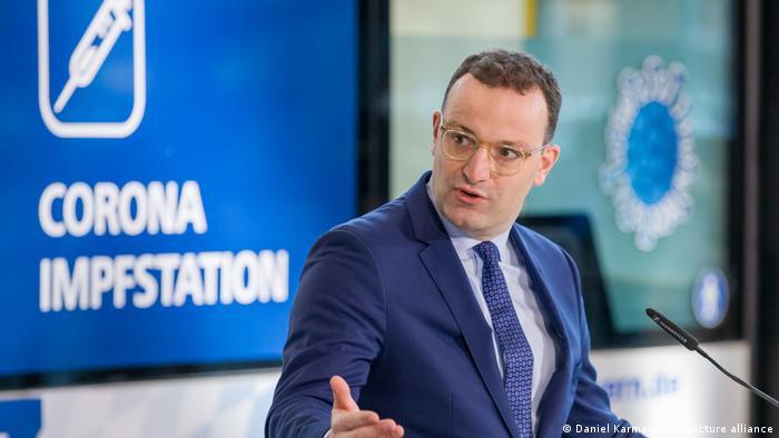 O ministro da Saúde alemão, Jens Spahn