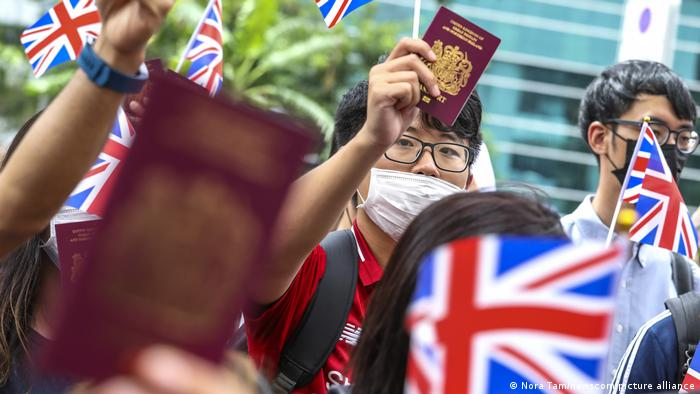 Hongkong 2019 | Protest British National (Overseas) Staatsbürgerschaft