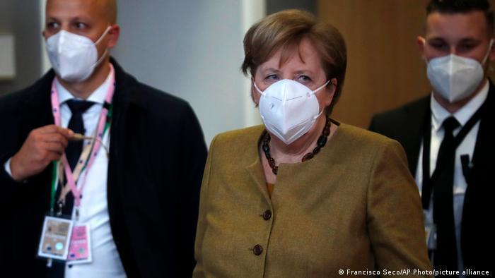 Angela Merkel na szczycie UE