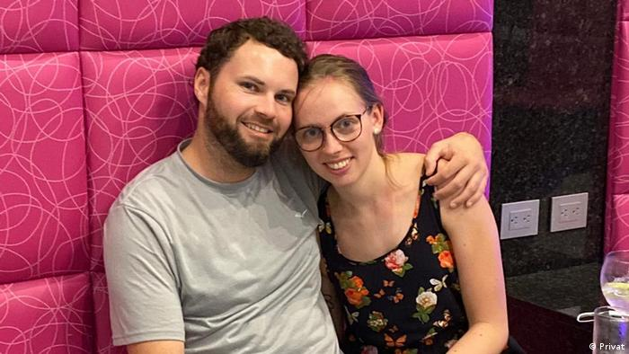Pasangan berbeda kewarganegaraan |Lena dan Matt