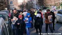 Russland Protesten in Chabarowsk