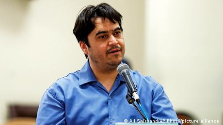 Iran Journalist Ruhollah Zam