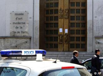 Entrada do Museu de Arte Moderna de Paris