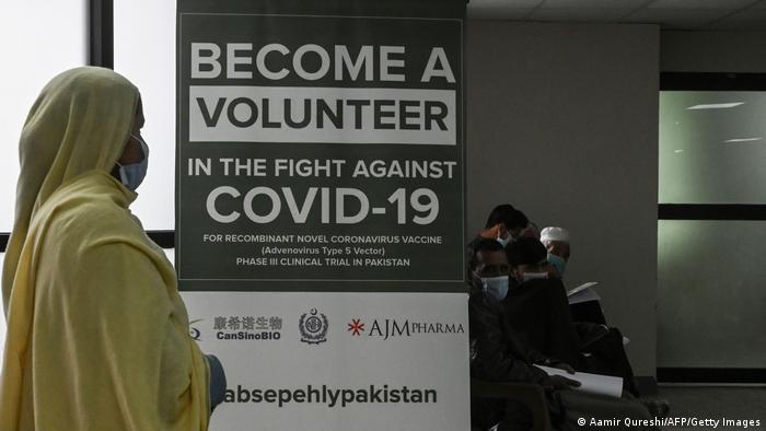 Pakistan Covid-19 | Freiwillige für chinesichen Impfstoff
