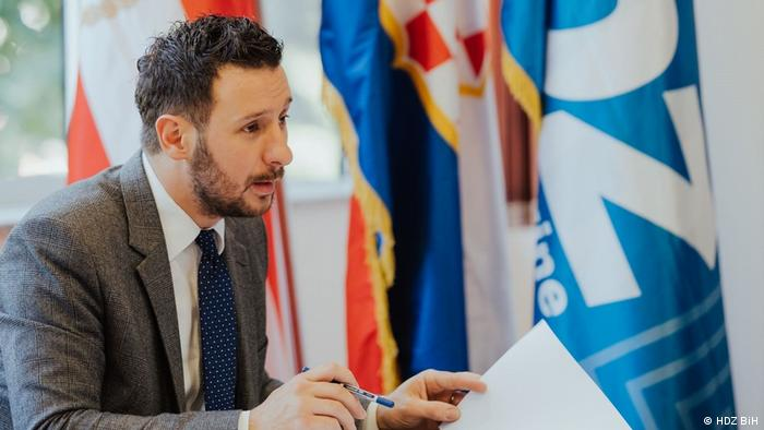 Bosnien und Herzegowina  Wahl in Mostar  Slaven Zeljko