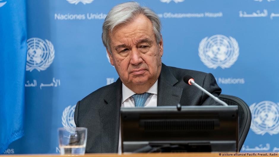 聯合國秘書長古特雷斯28日告訴加拿大媒體,聯合國正針對到新疆考察與中國進行協商。