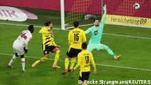 Fußball Bundesliga |Borussia Dortmund vs. VfB Stuttgart | 2. TOR Stuttgart