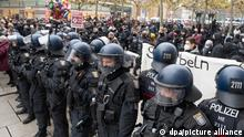 Deutschland I Querdenker Demo I Frankfurt