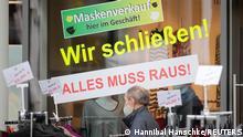 Deutschland I Coronavirus - Einkaufen vor dem Lockdown