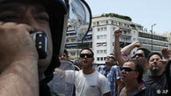 Griechenland Finanzkrise Demonstration in Athen