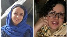 Iran Hoda Amid und Najmeh Vahedi