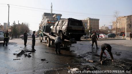 Afghanistan   Ansvchläge in Kabul