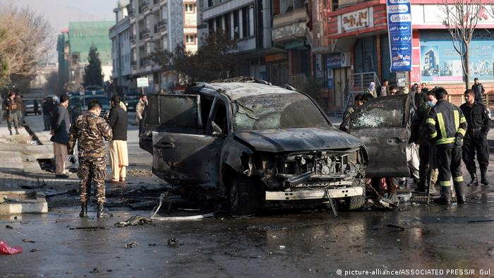 Afghanistan | Ansvchläge in Kabul