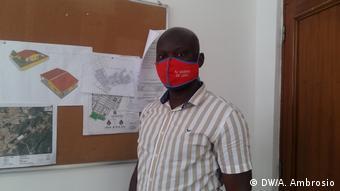 Abeki José, administrador municipal adjunto do Dande para a área técnica, Angola