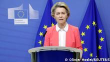 Brüssel EU |Brexit |Ursula von der Leyen, Präsidentin der Europäischen Kommission